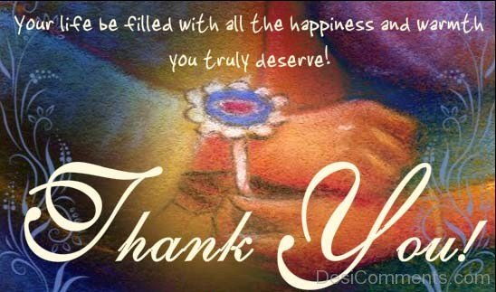 Happy Raksha Bandhan - Thank You