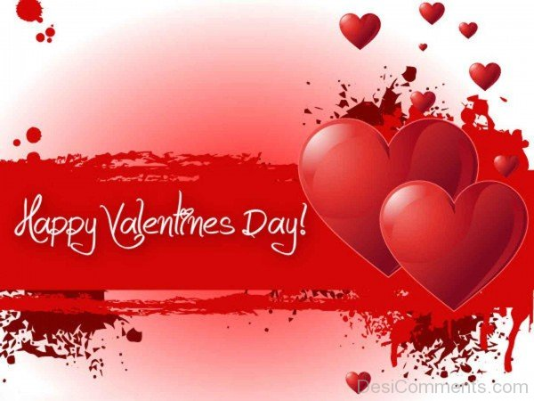 Happy Valentines Day With Heart-vcx310-DESI13