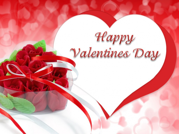 Happy Valentines Day With Roses-vcx311-DESI23
