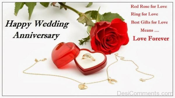 Happy Wedding Anniversary - Love Forever-DC39