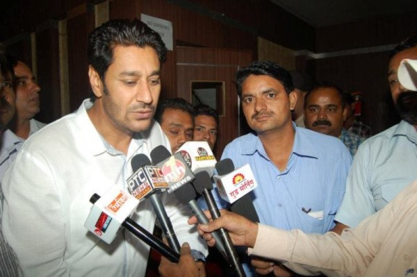 Harbhajan Mann During A Press Conference