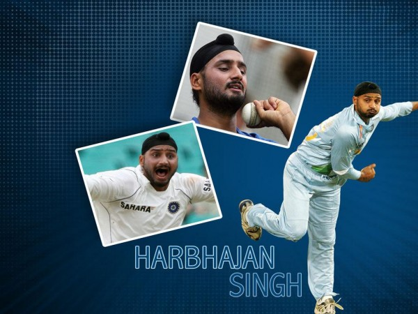 Harbhajan SinghThrowing The Ball