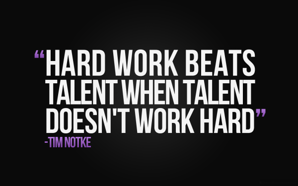 Hard Work Beats Talent-MP0369109Dc129