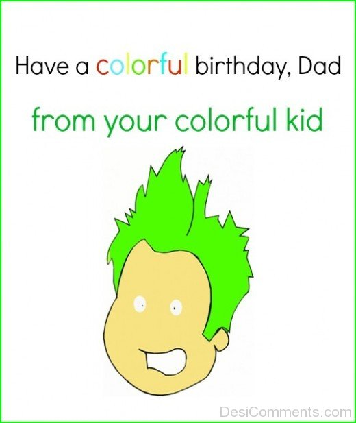 Have A Colorful Birthday