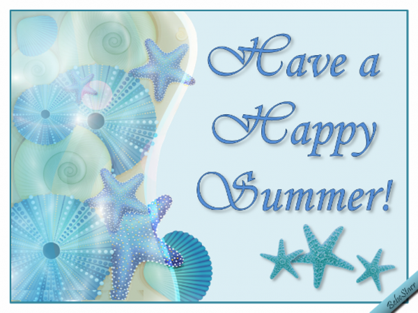 Have A Happy Summer !