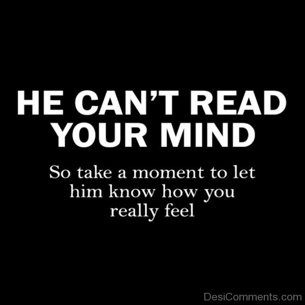 I can read your mind babe