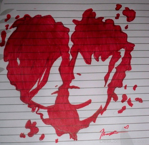 Heart Broken On Paper