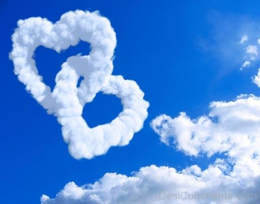 Hearts Shaped Clouds- DC 02106
