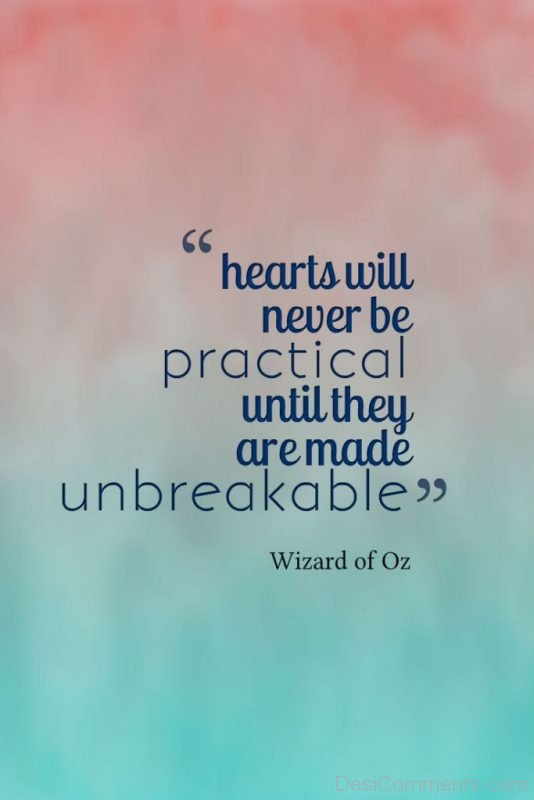 Hearts Will Never Practical