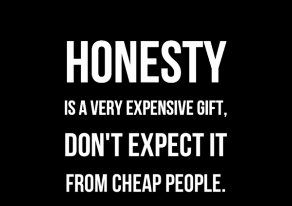 Honesty Is A Very Expensive Gift-Dc267