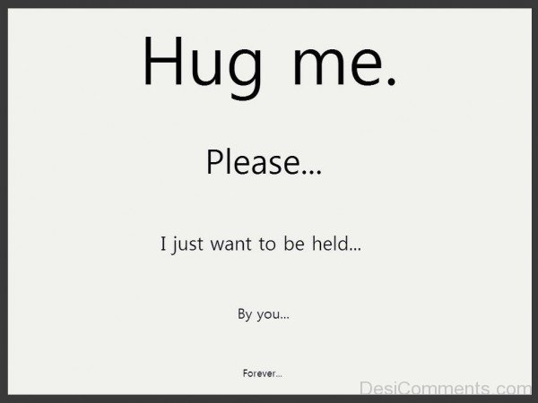 Hug Me Please- dc 77048