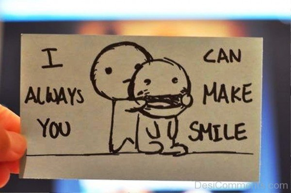 I Can Always Make You Smile-dc403