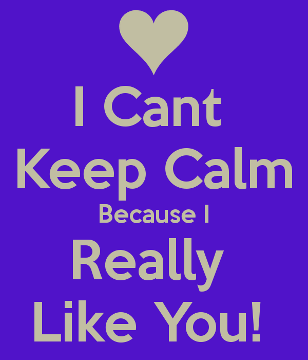 I Can't Keep Calm Because I Really Like You-DC1DC21