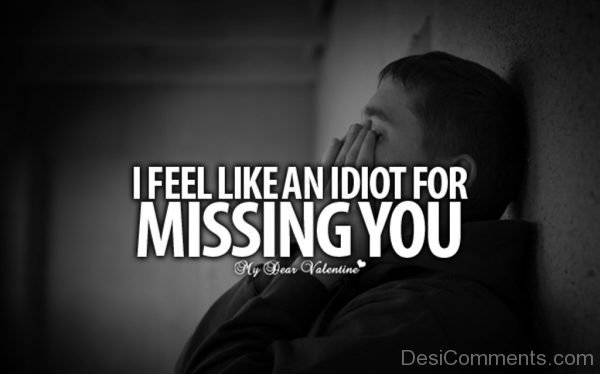 Picture: I Feel Like An Idiot