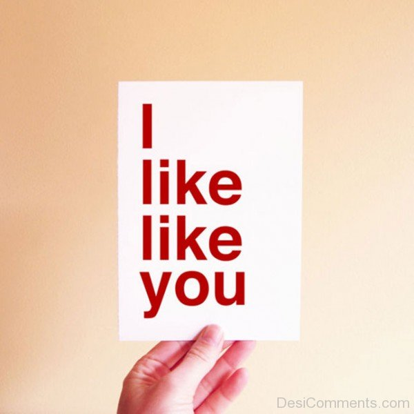 I Like Like You-DC1DC19