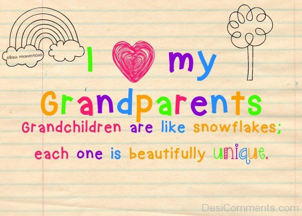 Picture: I Love My GrandParents