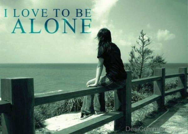I Love To Be Alone-unb607desi21