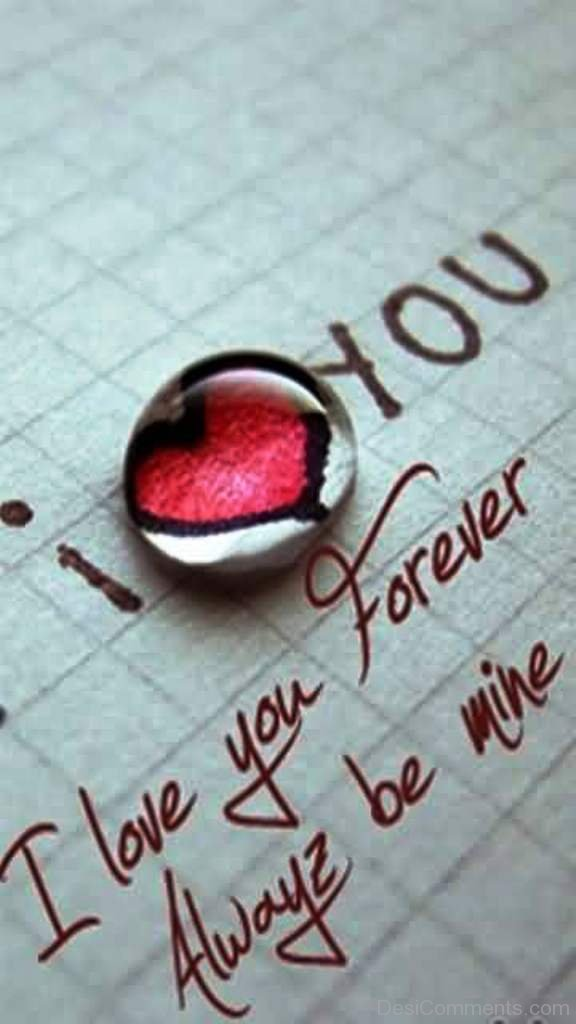 I Love You Forever Always Be M...