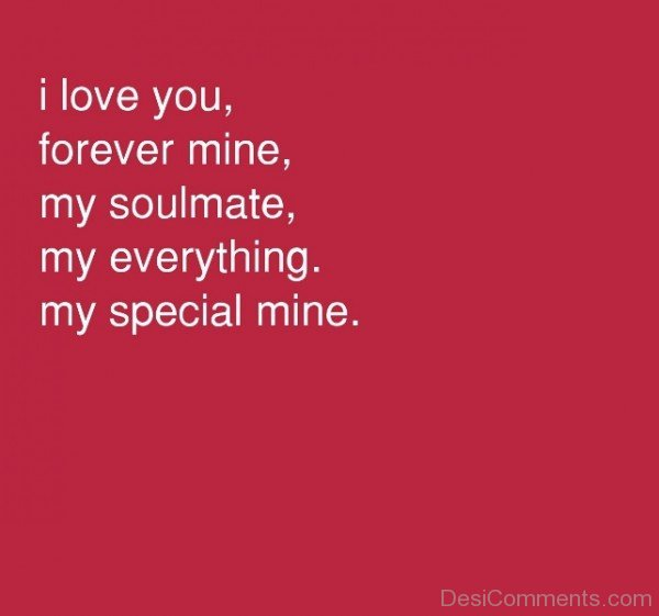 I Love You Forever Mine My Soulmate-yni813DC11