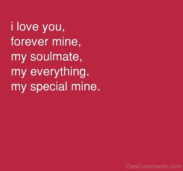 Soulmate my forever are you Are Soulmates