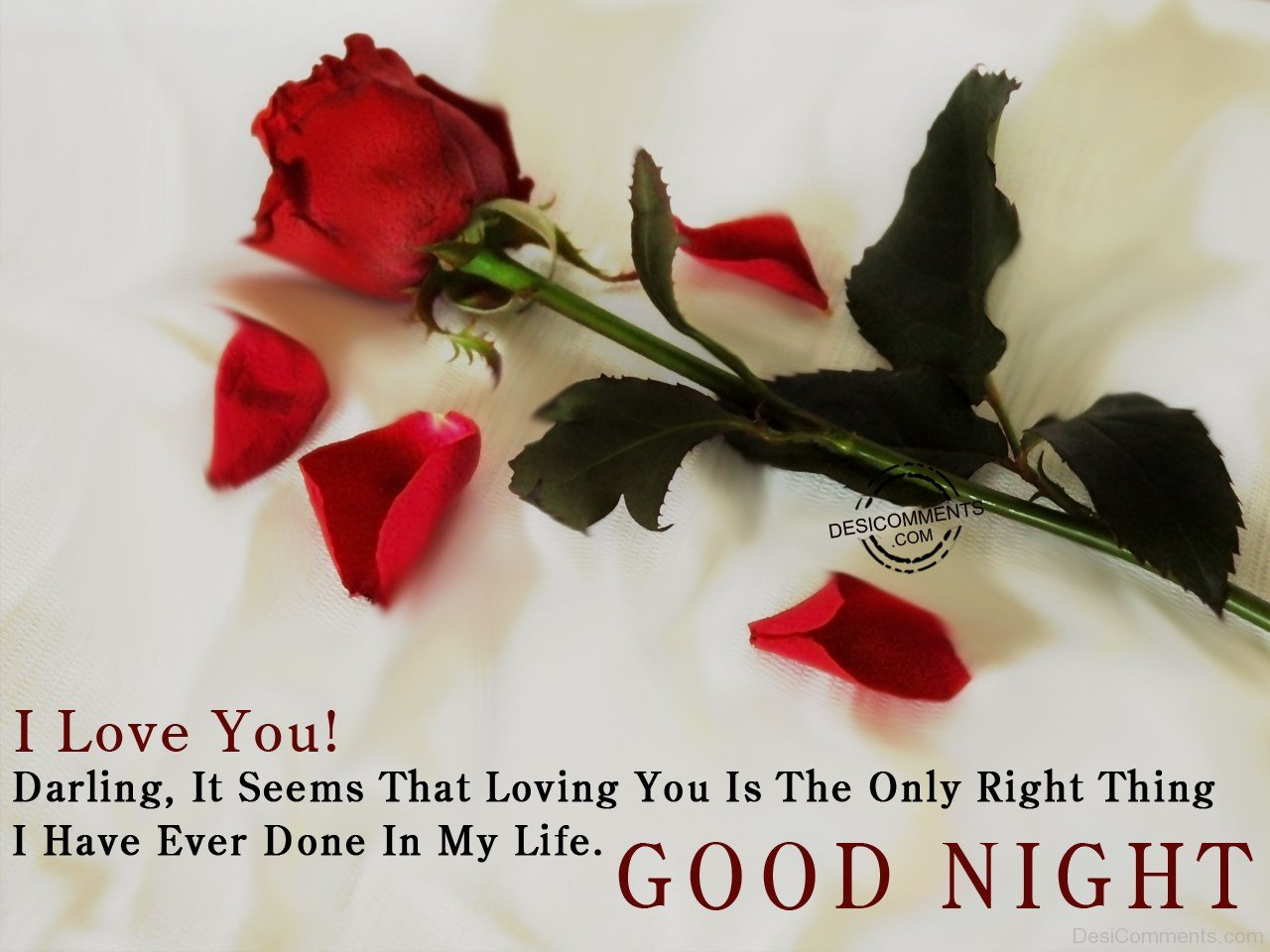 I Love You Good Night Desicommentscom