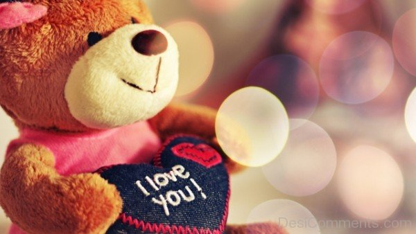 I Love You Teddy Bear Picture