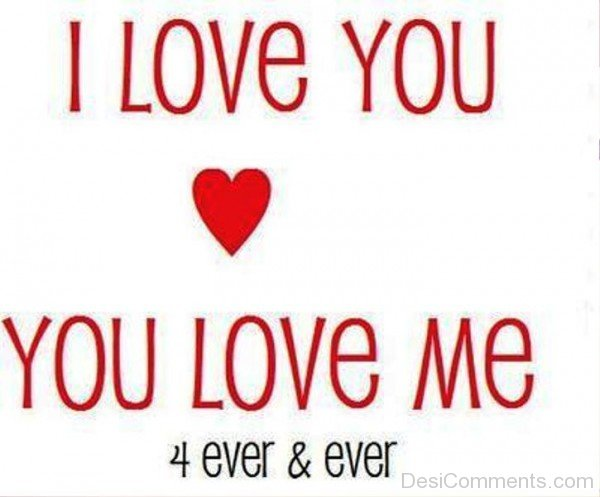 I Love You,You Love Me Forever And Ever-pol9021DC031