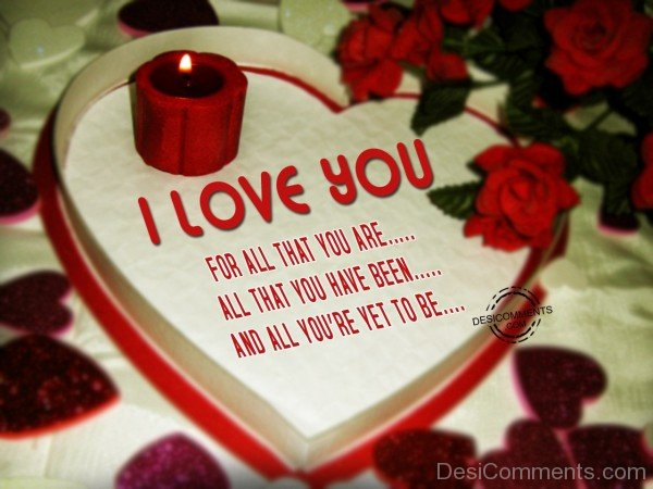 I Love you For All That You Are - 61