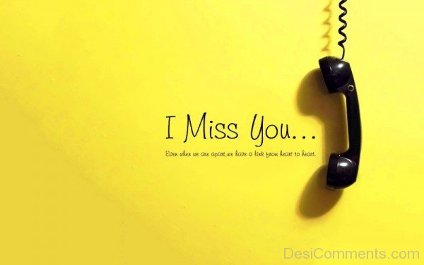 I Miss You Picture- Dc 4043