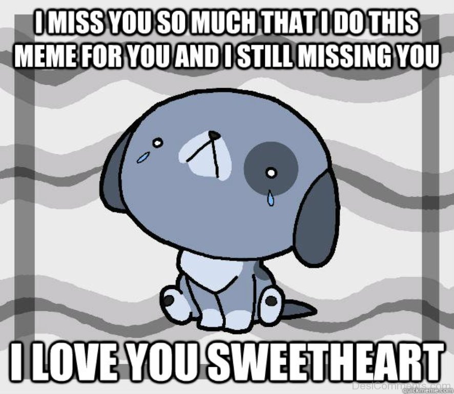 I Miss You So Much That I Do This Desicommentscom