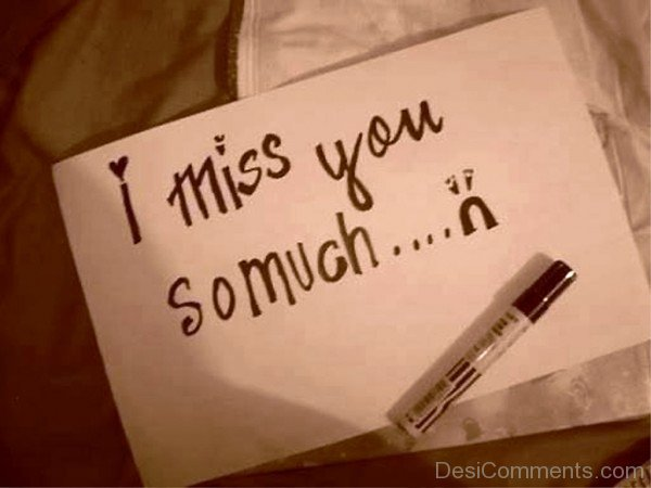 I Miss You So Much-umt713DESI19