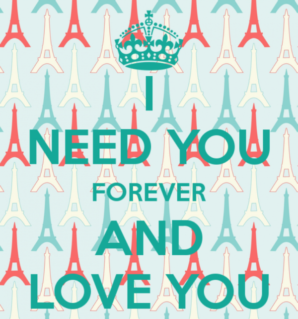 I Need You Forever And Love You-DC29