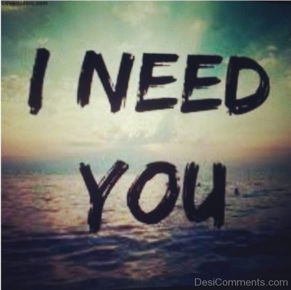 I Need You Picture-DC50