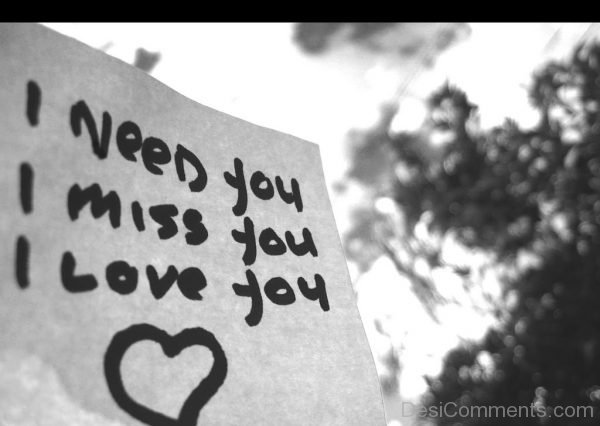 I Need You,I Miss You Image-DC063
