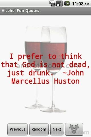 I Prefer To Think That God Is Not Dead,Just Drunk