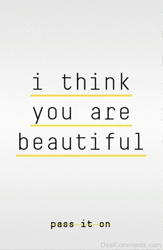 I Think You Are Beautiful-ybe2022DC092