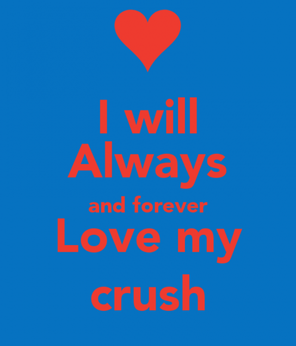 I Will Always And Forever Love My Crush-dc12Desi12