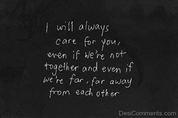 I Will Always Care For You-DC17