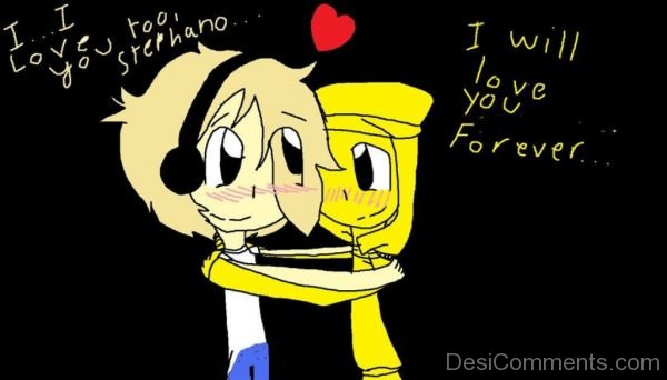 I Will Love You Forever Image-DC0109