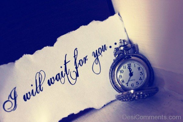 I Will Wait For You-ecz224DESI24