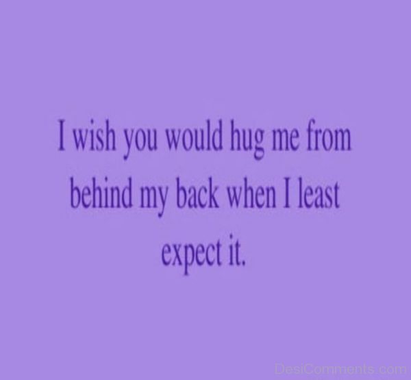 I Wish You Would Hug Me-DC080