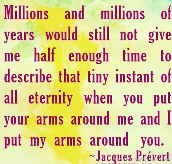 Picture: I put my arms around you