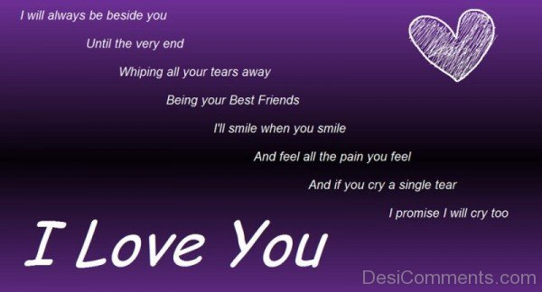 I will always be beside you-DC063