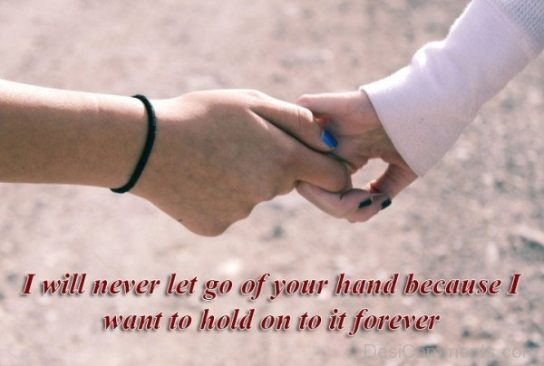 II Will Never Let Go Of Your Hand-DC02DC41