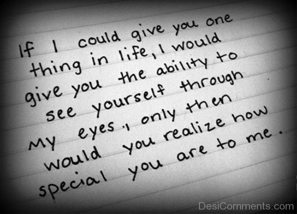 If I Could Give You One Thing In Life-jhk111DESI09