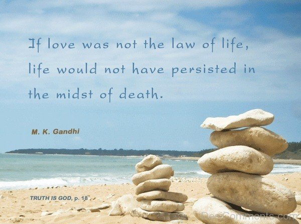 If Love Was Not The Law Of Life-DC987DC171