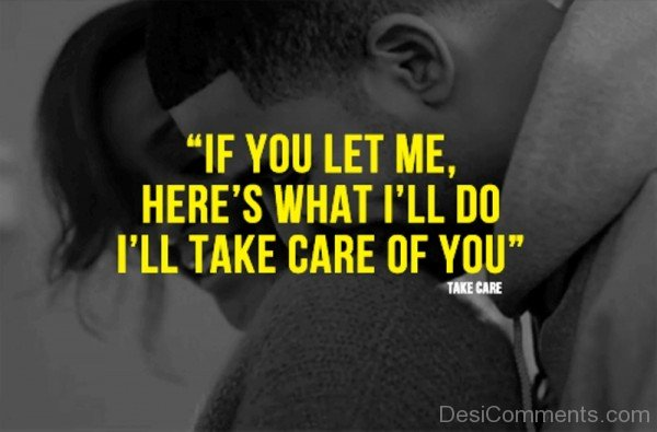 Picture: If You Let Me