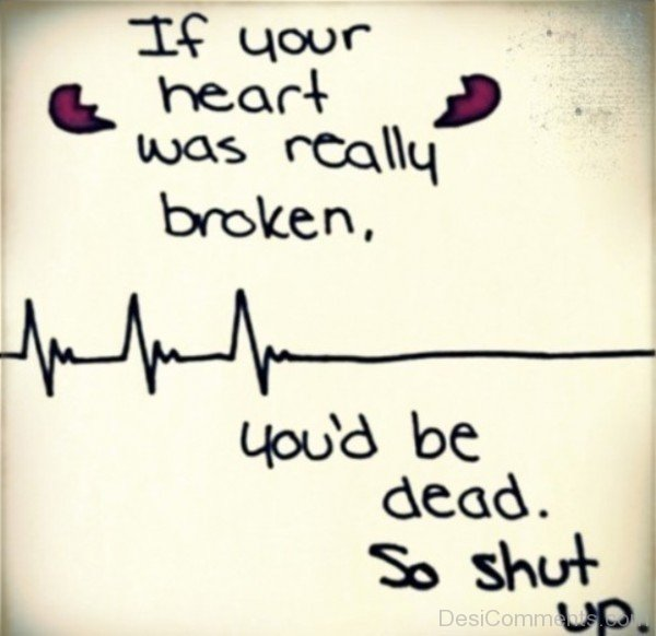 If your heart was really broken-DC32