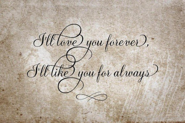 I'll Love You Forever And Always-sdf611DESI19