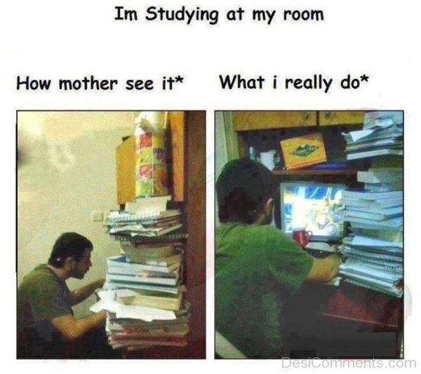 I'm Studing At My Room-DC077